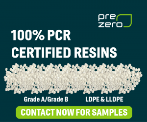 PreZero 100% PCR Certified Resins