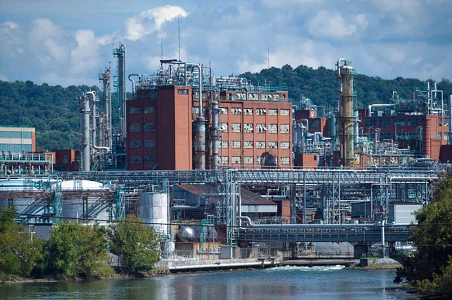 Eastman Chemical facility in Kingsport, Tenn.
