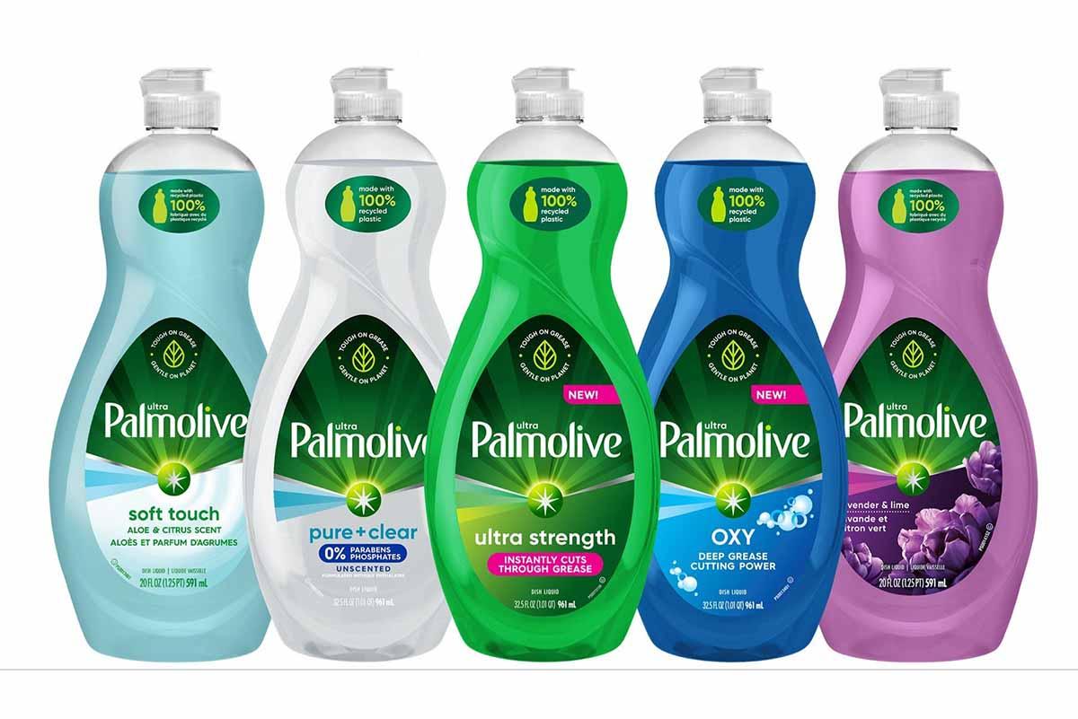 Palmolive dish soap portfolio.