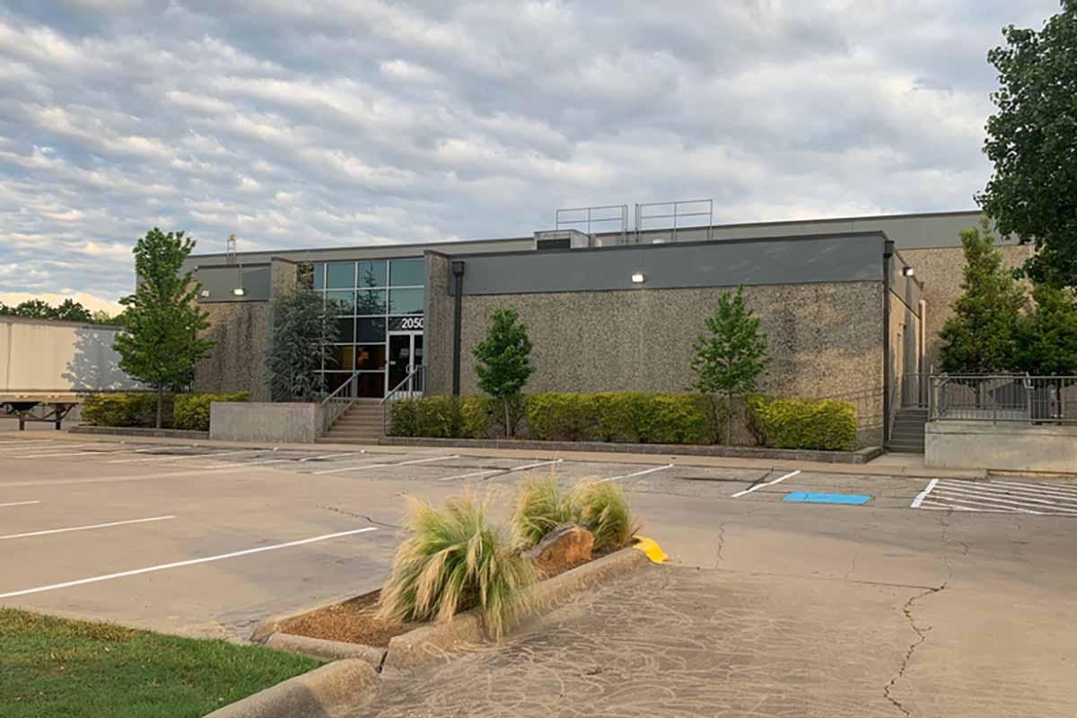 Petoskey Plastics facility exterior in McKinney, Texas.