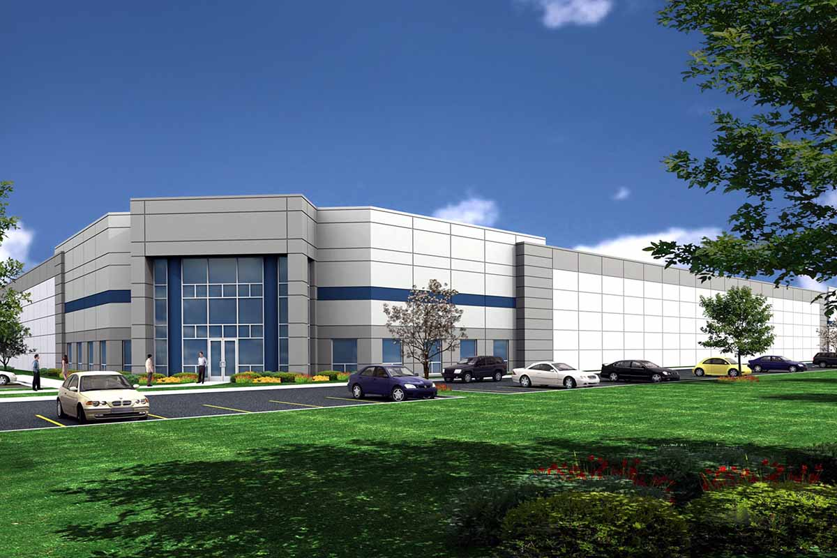International Recycling Group plant rendering.