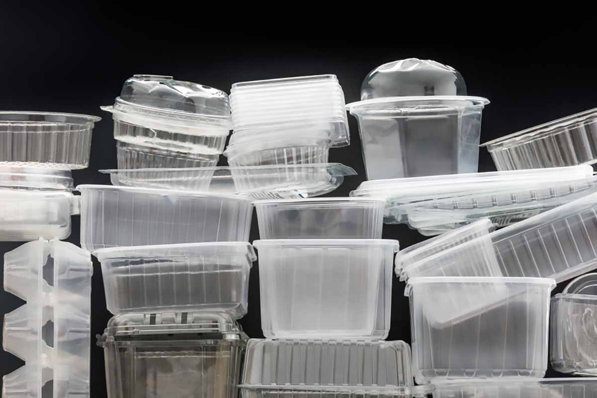 Thermoform plastic packaging.