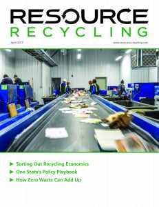 April 2017 Resource Recycling