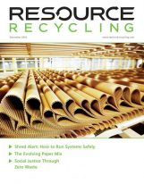 Resource Recycling magazine, Dec. 2016