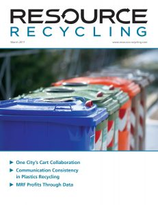 March 2017 Resource Recycling magazine