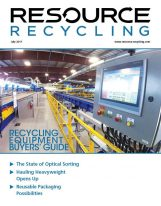 July 2017 Resource Recycling magazine