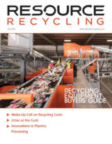 Resource Recycling magazine, July 2016