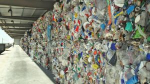 mixed plastics for recycling