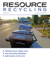 Resource Recycling magazine, Feb. 2016