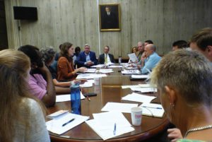 At a meeting in September 2015, members of the Boston Recycling Coalition presented important aspects of the zero waste campaign to both city and state officials. Boston leaders are currently moving forward with a formal planning process to reshape some aspects of the city's waste policy.