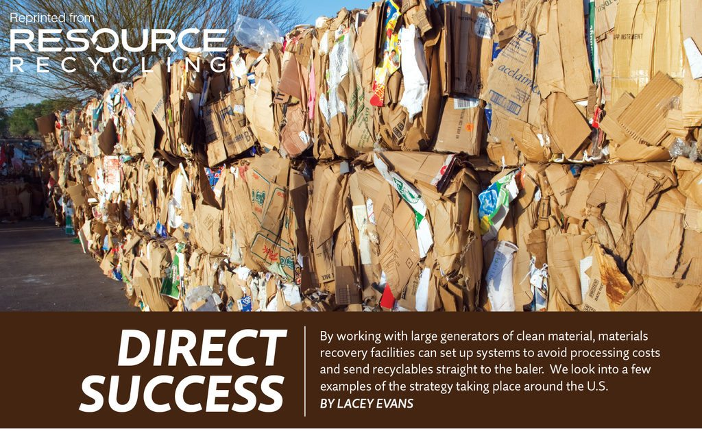 Direct success, Nov. 2016 Resource Recycling