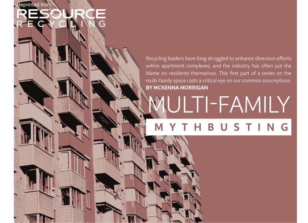 Multi-family mythbusting