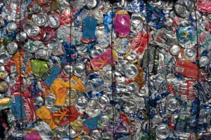 used beverage containers for recycling