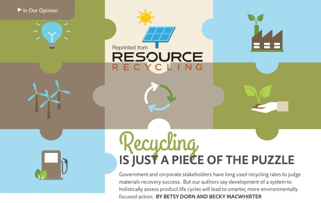 May 2016, Resource Recycling