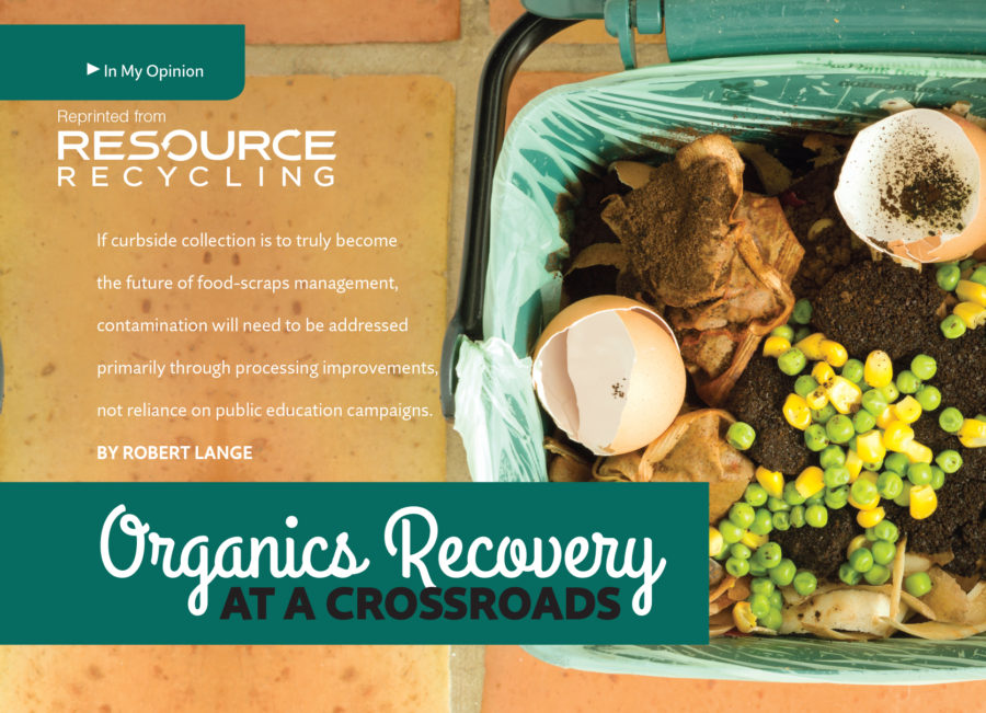 Resource Recycling June 2016, Organics recovery