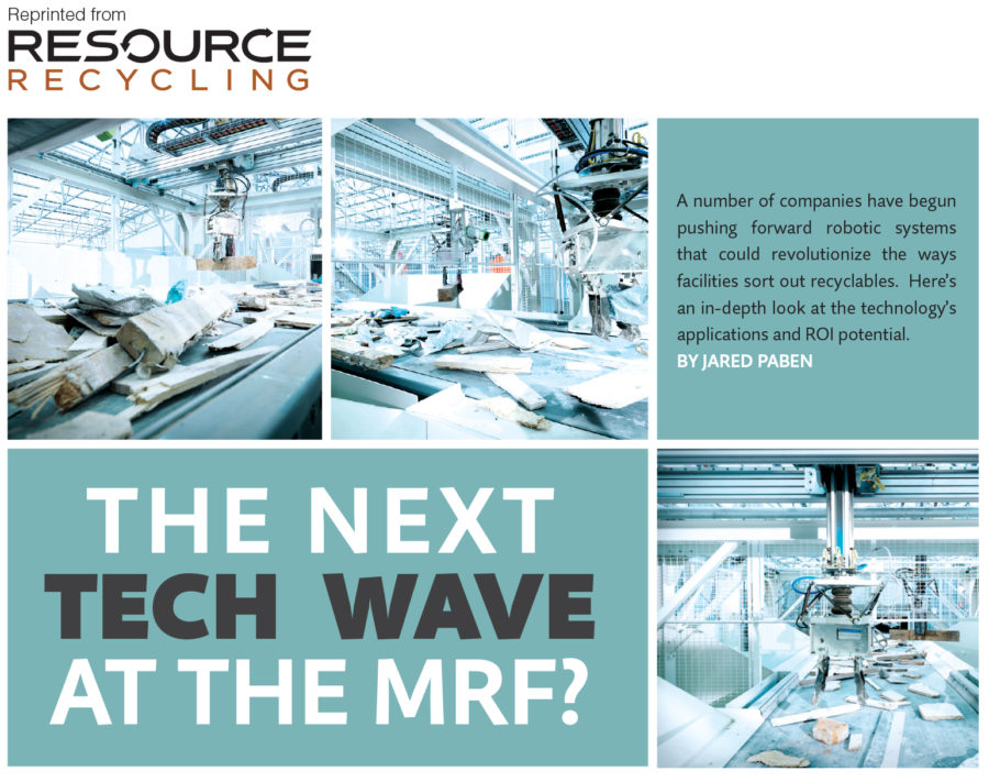 MRF Technology, June 2016 Resource Recycling