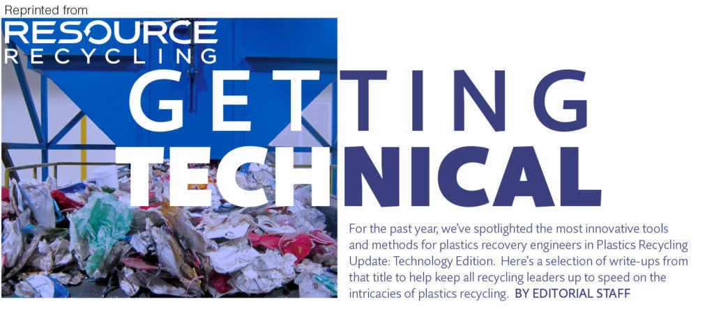 July 2016, Resource Recycling magazine