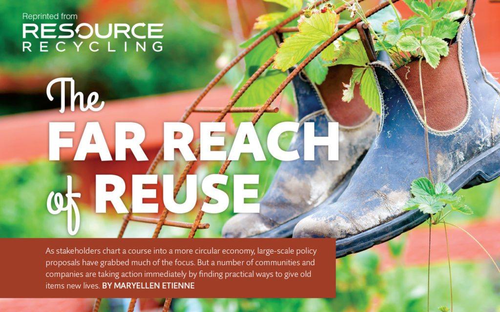 The far reach of reuse, Sept. 2016