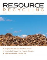 April 2016, Resource Recycling