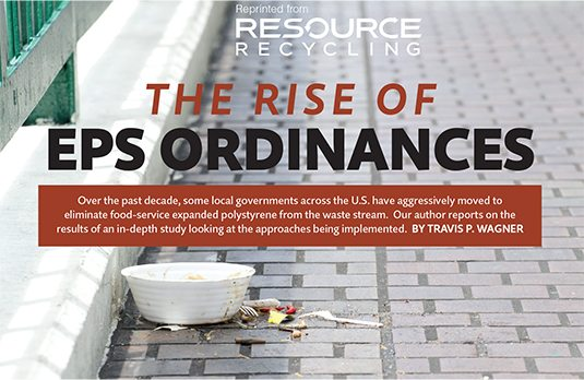Rise of EPS ordinances, Wagner, Jan. 2017