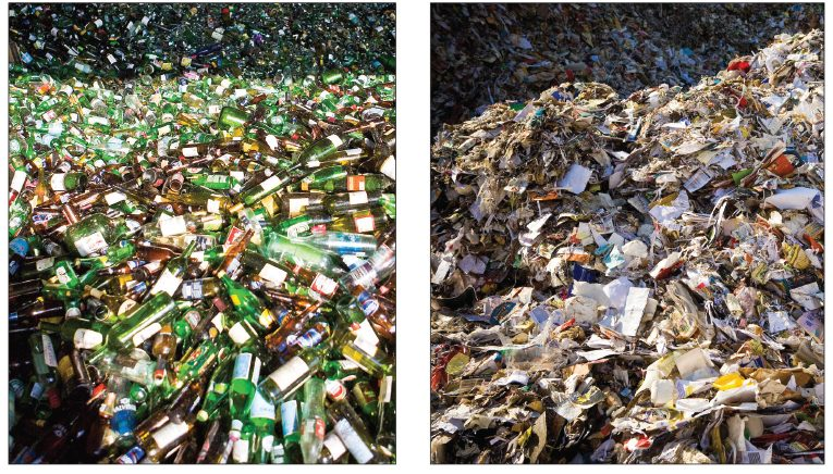 Collins, glass recycling