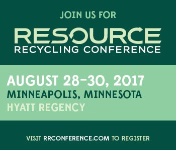 Resource Recycling Conference 2017