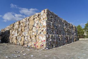 paper bales