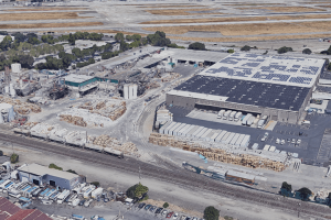 Graphic Packaging closed down its Santa Clara, Calif. facility in early December. Photo: Google Maps