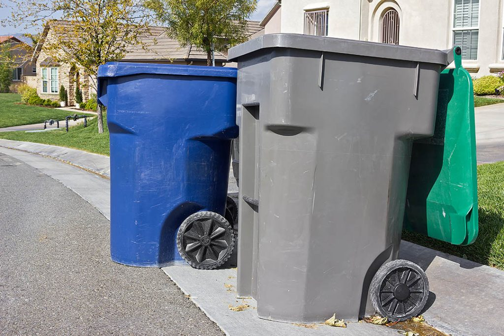 curbside bins