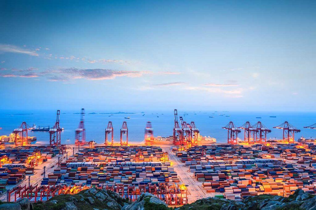 shipping terminal china