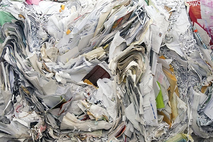 mixed paper