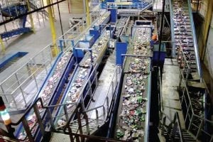 QRS Recycling Baltimore facility