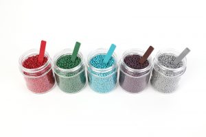 Colored pellets from EFS-Plastics.
