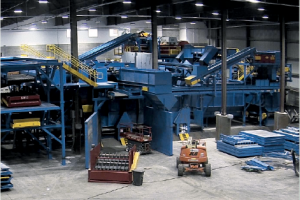 Inside the Zero Waste Solutions MRF.