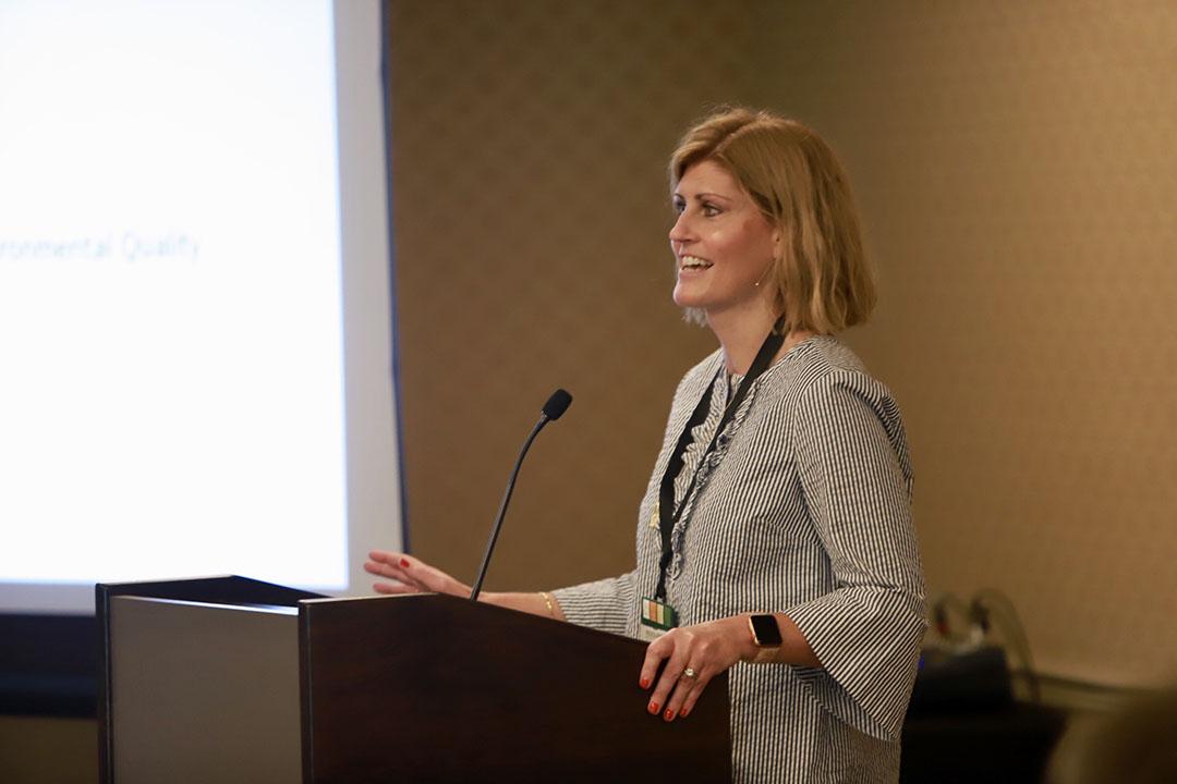 Jennifer Milner of MDEQ | Brian Adams Photo/Resource Recycling, Inc.