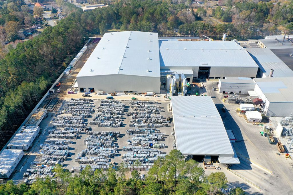 JW Aluminum Goose Creek site