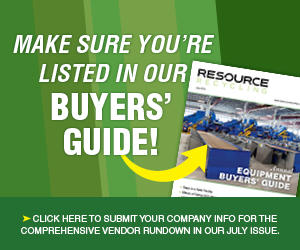 List your company is our Recycling and Composting Equipment Buyers' Guide