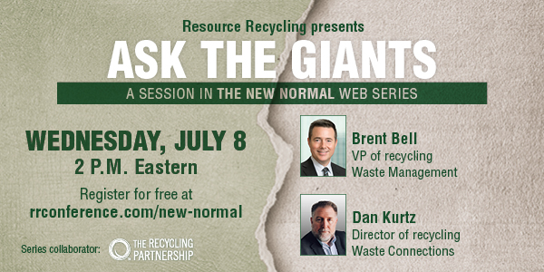 """""""Ask the Giants"""" from Resource Recycling"""