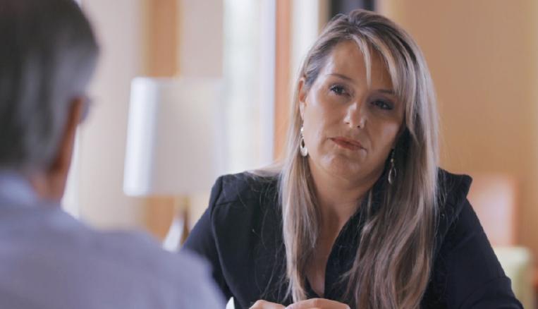"Correspondent Laura Sullivan for ""Frontline"""