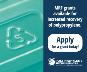MRF Grants from the Polypropylene Recycling Coalition