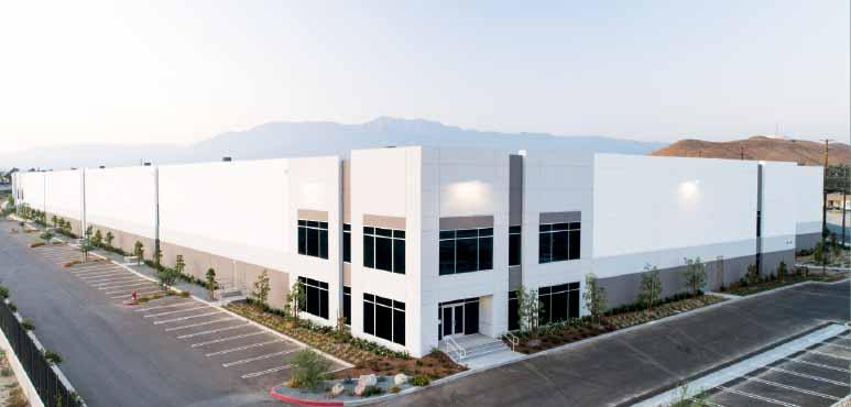 Exterior of PreZero facility in Riverside, Calif.