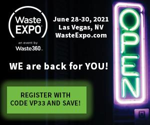 Waste Expo June 28-30, Las Vegas