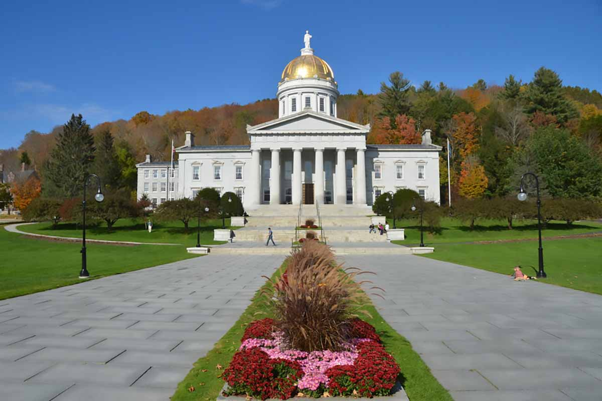 The State Capitol Building in Montpelier, Vt.