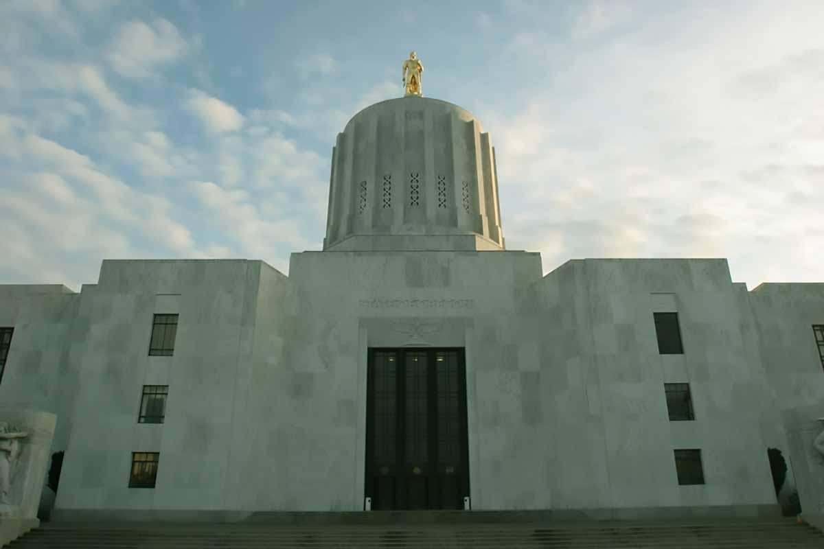 Oregon capitol building.