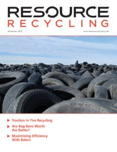 Resource Recycling Nov. 2016