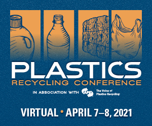 Plastics Recycling Conference - Virtual - April 7-8, 2021
