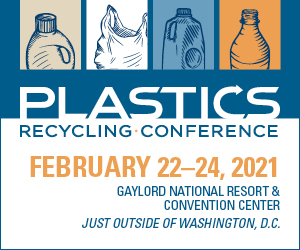 2021 Plastics Recycling Conference and Trade Show